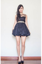 belt - gold Sportsgirl belt - tulle AX Paris dress