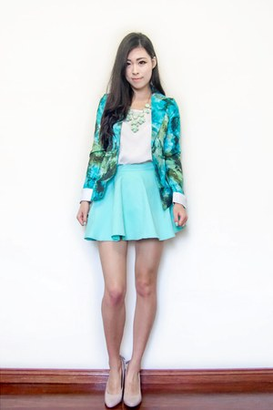 light blue skater The Scarlet Room skirt