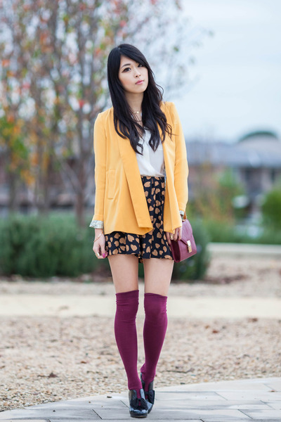 Spicy Avenue jacket - heart print Spicy Avenue skirt