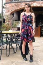 Thakoon x Target dress - Alice & Olivia x Payless boots