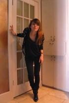 Thakoon x Target sweater - Forever21 dress - BDG jeans - Alice & Olivia x Target