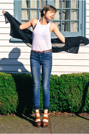 navy kelp wash denim free people jeans