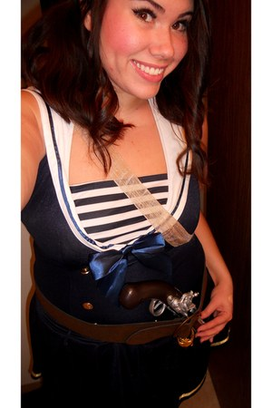 navy sailor dress