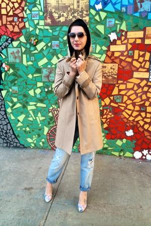 trench DKNY coat
