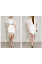 white Mike Vensel dress