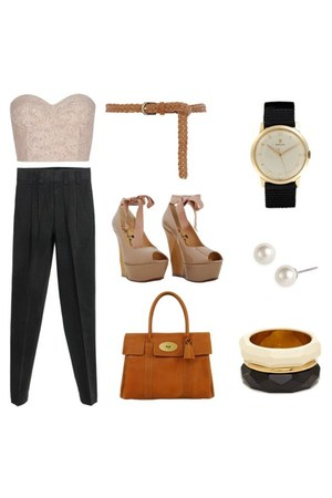 kate spade bracelet - Mulberry bag - Rolex watch - Givenchy earrings