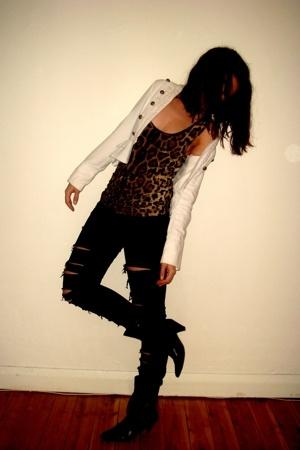 Target Australia shoes - supre jeans - Valleygirl top - Dotti jacket