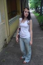 accessories - t-shirt - jeans - Marni purse - shoes