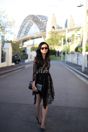 Lover dress - YSL bag - CC Skye bracelet