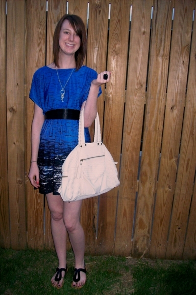 Forever21 dress - Forever21 purse - Old Navy shoes
