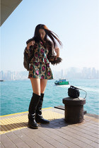 Stella McCartney boots - vintage dress