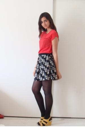 moms blouse - Target skirt - Nine West shoes