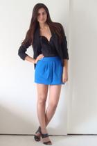 Express blazer - vintage bra - Target skirt - Target shoes
