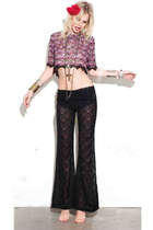 crop top For Love and Lemons blouse