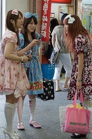 Hime-Gyaru Style  in Japan