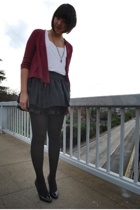 sweater - top - Forever21 skirt - shoes