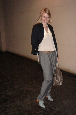 Ralph LaurenLauren jacket - Erin Brynie top - ever pants - botkier purse - Lucil