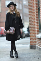 black acne boots - black Queens Wardrobe dress - black Designers Remix Collectio