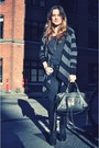 Acne-boots-balenciaga-bag-gerard-darell-cardigan