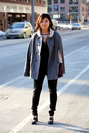 Urban Outfitters jacket - Zara pants - Urban Outfitters top - BCBG shoes - vinta