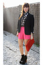 Jeffrey-campbell-boots-vintage-blazer-vintage-shorts-vintage-blouse