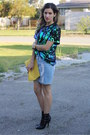 Hello-parry-skirt-cameo-top
