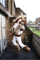 vintage jacket - vintage boots - from Rome pants - vintage jumper