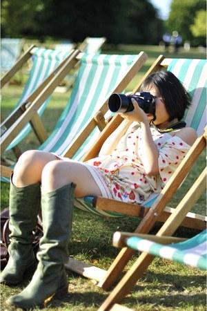 Mela loves London dress - spain made boots