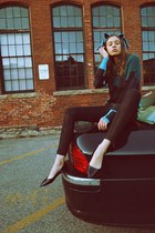 karl jeans - 31 Phillip Lim sweater - Carvela Kurt Geiger flats