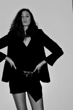 Kain dress - Barneys New York blazer - vintage belt