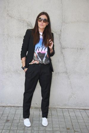 H&M pants - Fosco shoes - Lefties blazer - carrera sunglasses