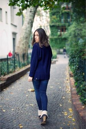 Fornarina jeans - Fornarina boots - Fornarina sweater