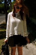 supre shirt - Witchery bag - Mink Pink sunglasses - Zara skirt