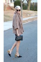 Zara skirt - Nordstrom jacket - Stella & Dot bag - H&M top - Zara heels