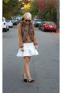 H-m-sweater-asos-skirt-victorias-secret-vest-zara-heels