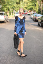 BCBGeneration dress - H&M bag - Zara heels
