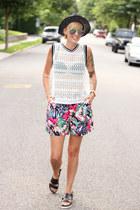 H&M hat - H&M shorts - H&M top - H&M sandals