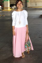 ral skirt - relic bag - Zara blouse