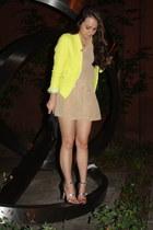 Zara blazer - robert rodriguez romper - Zara sandals