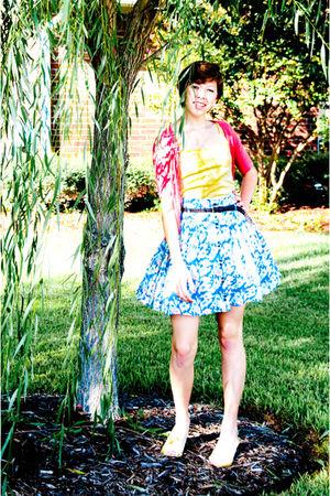 I Love Ronson skirt - Target top
