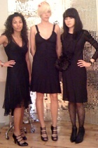 Prada dress - pretty young thing hat - Marios Schwab shoes