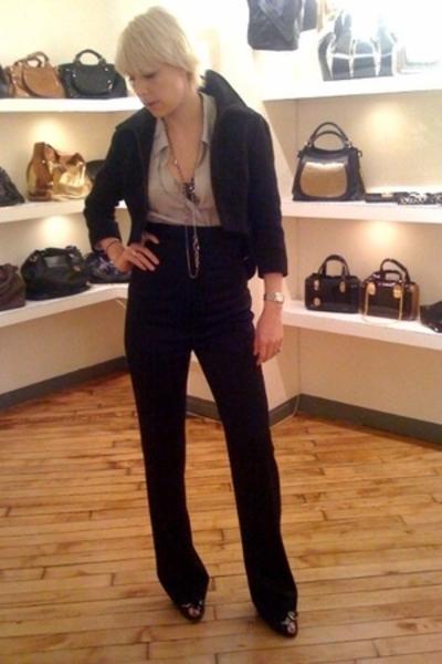 Nina Ricci top - Kaufman Franco pants - Giuseppe Zanoti shoes - Kaufman Franco j