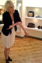 Dolce & Gabbana blazer - Diane VonFurstenburg dress - American Apparel socks - J
