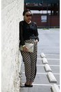 Vintage-purse-zara-shoes-vintage-sunglasses-arden-b-blouse-asos-pants