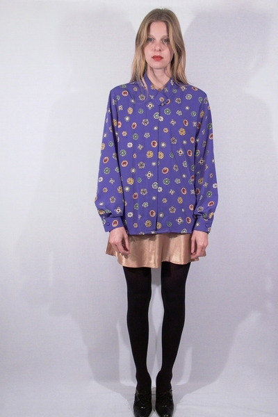 violet fair season blouse