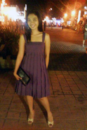 maldita dress - Schu shoes - purse