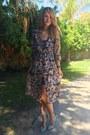 Black-floral-sheer-sheinside-dress-aquamarine-modcloth-heels