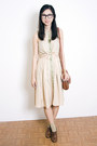 Tan-samantha-pleet-dress
