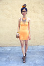Orange-minkpink-x-nasty-gal-dress-brown-urban-outfitters-bag