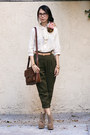 Ivory-urban-outfitters-blouse-dark-brown-urban-outfitters-bag